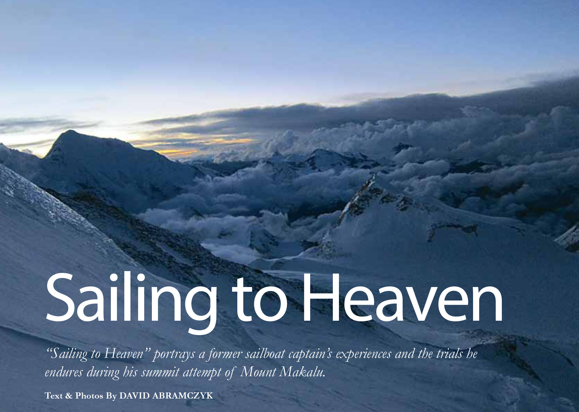 Sailing to Heaven as featured on Matador Network