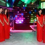 Samsara Hostesses welcoming Guests