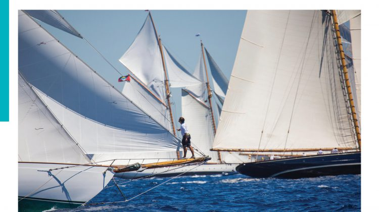 Stepping Back in Time Aboard a Classic Schooner as featured in The Islander